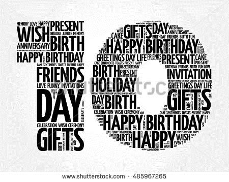 happy 10th birthday clipart ; stock-vector-happy-th-birthday-word-cloud-collage-concept-485967265