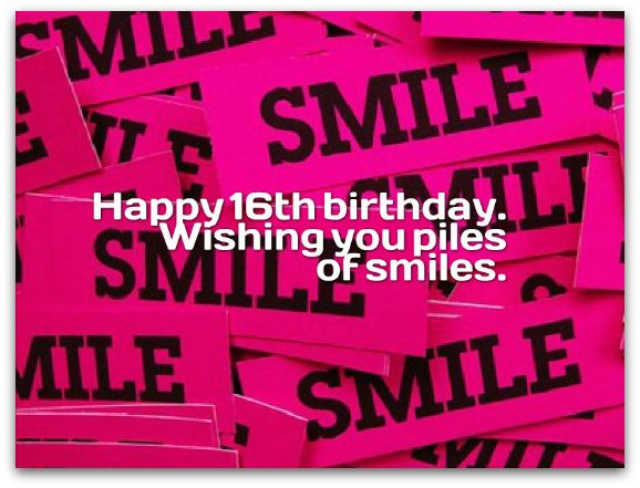 happy 16th birthday posters ; 16th-birthday-wishes2B