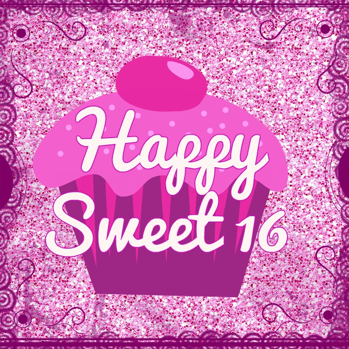 happy 16th birthday posters ; sweet-sixteen-birthday-poster