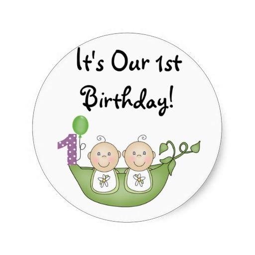 happy 1st birthday stickers ; 1273aacfc8d55c576a448dae82646977