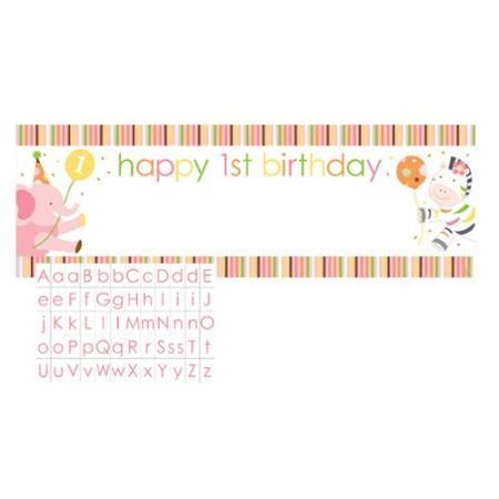 happy 1st birthday stickers ; club-pack-of-12-sweet-at-one-happy-1st-birthday-pink-girl-designed-giant-banners-with-stickers-60_1025232