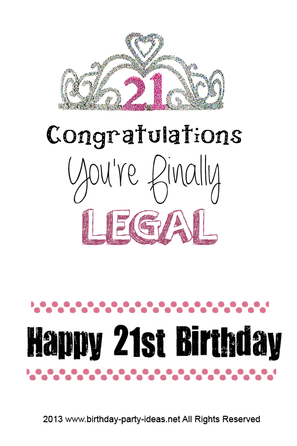 happy 21st birthday quotes ; 2906a61bc9def110826a9e312acc4ae9
