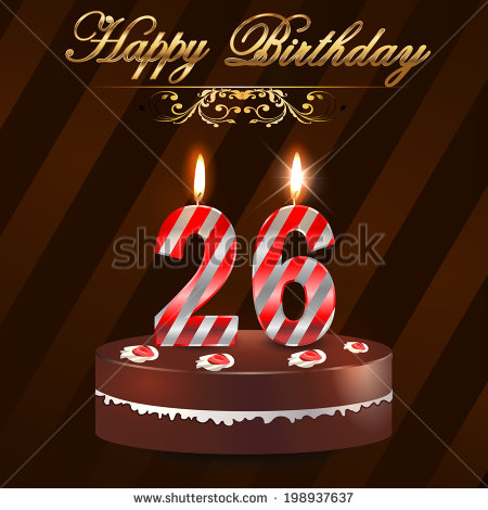 happy 26th birthday images ; stock-vector--year-happy-birthday-card-with-cake-and-candles-th-birthday-vector-eps-198937637