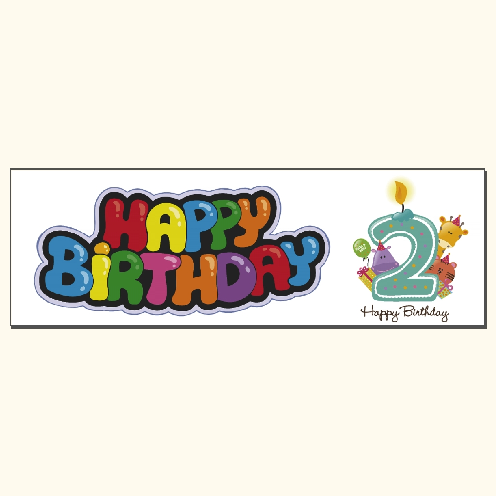 happy 2nd birthday banner ; happy-birthday-2nd-A
