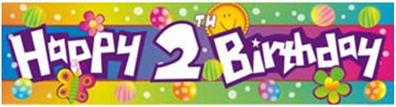 happy 2nd birthday banner ; imgf10819