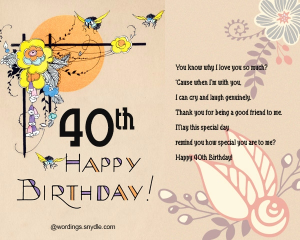 happy 40th birthday wishes ; 40th-birthday-cards-for-best-friend-inspirational-40th-birthday-wishes-messages-and-card-wordings-wordings-and-of-40th-birthday-cards-for-best-friend-1