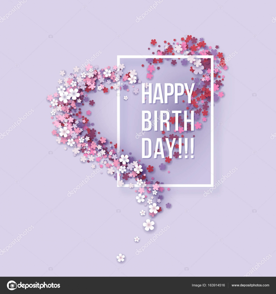 happy b day poster ; depositphotos_163914516-stock-illustration-happy-birthday-poster-frame-flowers