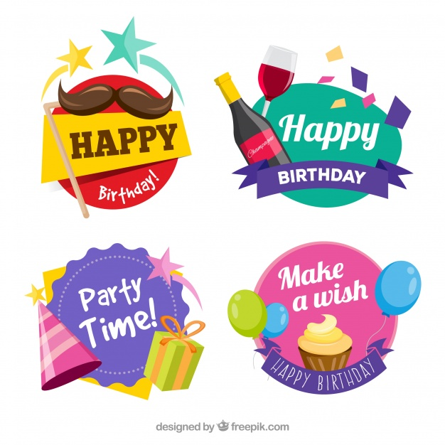 happy bday stickers ; happy-birthday-stickers_23-2147648240