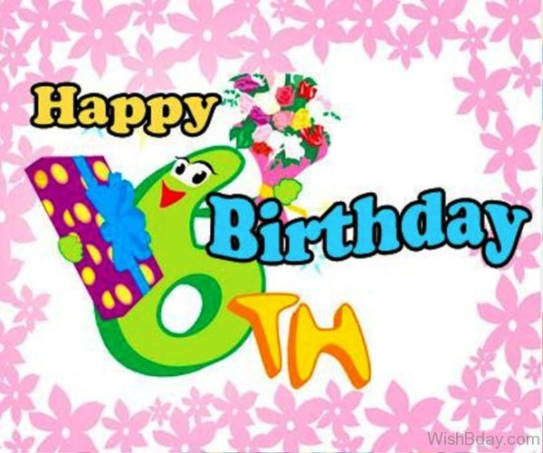 happy birthday 6 year old ; Happy-Birthday-Six-Year-Old-Wishes-Nice-Image-600x500