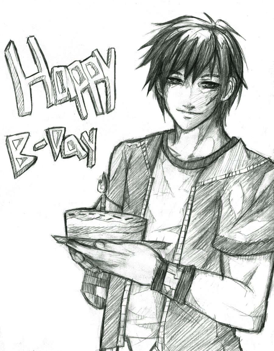 Anime Drawing Happy Birthday Anime Collection