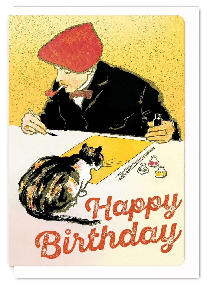 happy birthday artist images ; VTG_10_ml