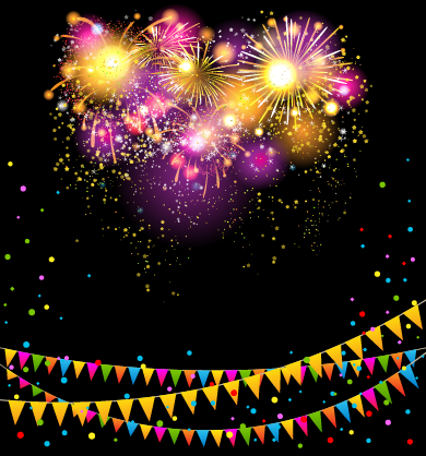 happy birthday background hd images ; Colored-confetti-with-happy-birthday-background-vector-04