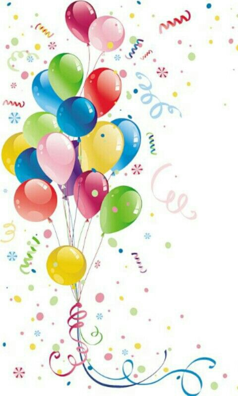 happy birthday balloons free clipart ; 32a6069de8d9d9839a44817689315bb0