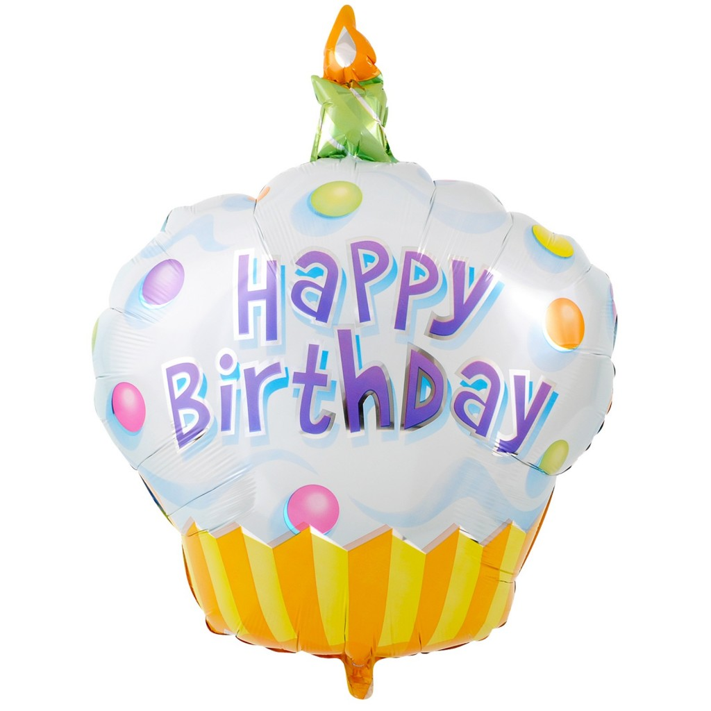 happy birthday balloons walmart ; Happy-Birthday-Yellow-Cupcake-1024x1024