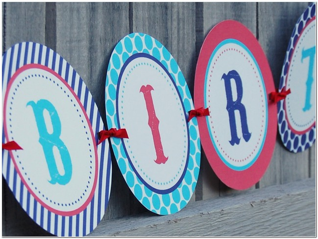 happy birthday banner template for word ; happy-birthday-banner-printable-template