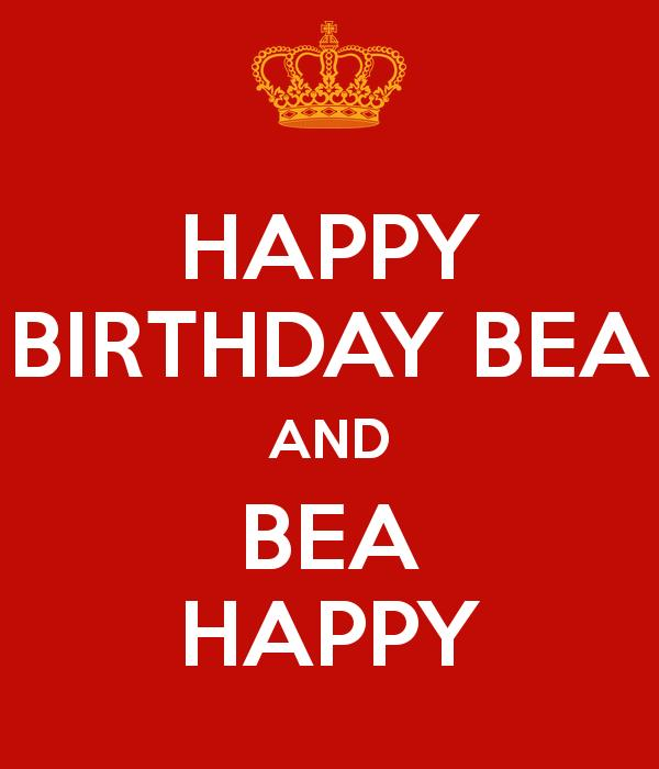 happy birthday bea ; happy-birthday-bea-and-bea-happy