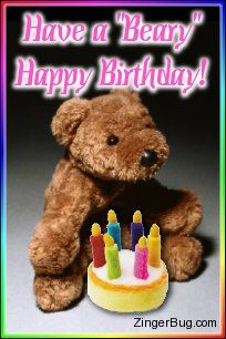 happy birthday bear meme ; a9cf142bc8a3a92ee6d49276f0e4488b