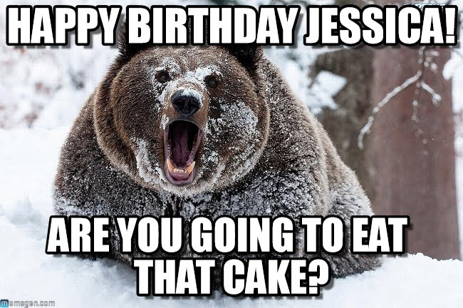 happy birthday bear meme ; cd08c7e7d62f1a47d550e94d528923e8