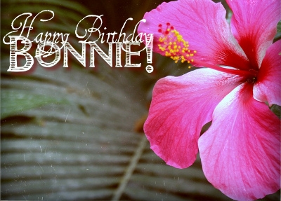 happy birthday bonnie ; 1836819