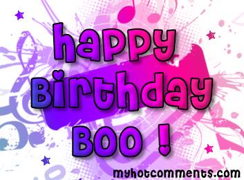 happy birthday boo boo ; 5d6c89740038e4e1f46b70f40c8daa35