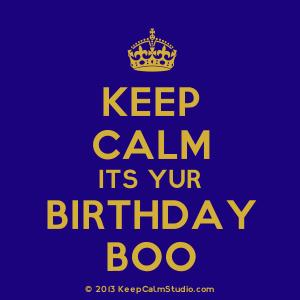 happy birthday boo boo ; kcs_5fdd8821
