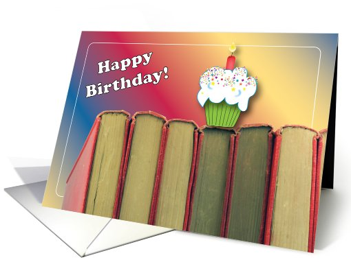 happy birthday book lover ; 815478_3d
