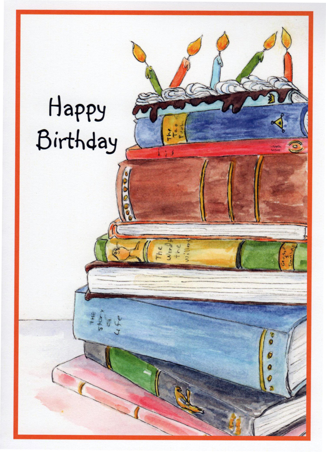 happy birthday book lover ; 968343681be7d398feb56a936bd4fc3f