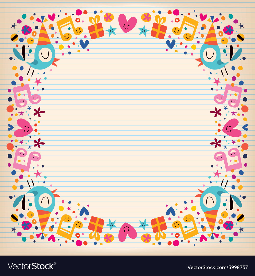 happy birthday border paper ; happy-birthday-border-lined-paper-card-vector-3998757