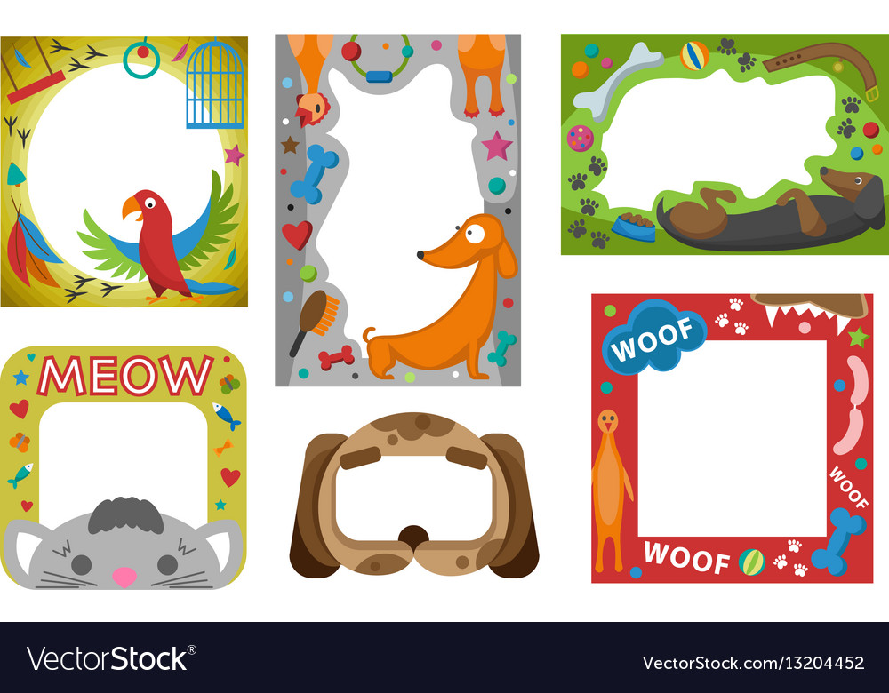 happy birthday borders free ; cute-happy-birthday-border-photo-frame-vector-13204452