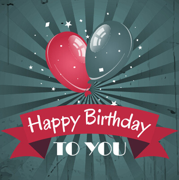 happy birthday borders free ; happy_birthday_vintage_card_with_balloons_vector_580190