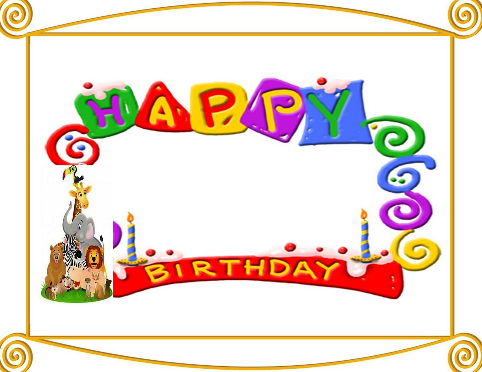 happy birthday borders microsoft word ; Happy-birthday-border-2-free-clip-art-images