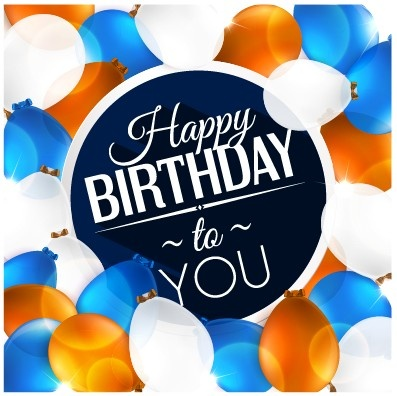 happy birthday boy ; creative_happy_birthday_background_with_balloon_vector_542816