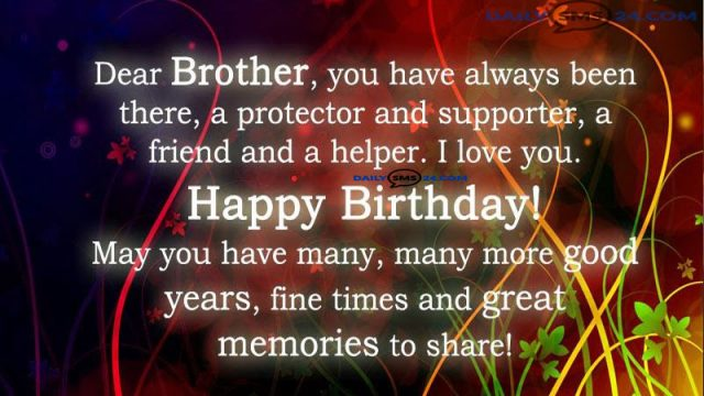 happy birthday brother quotes ; birthday-wishes-for-brother-640x360