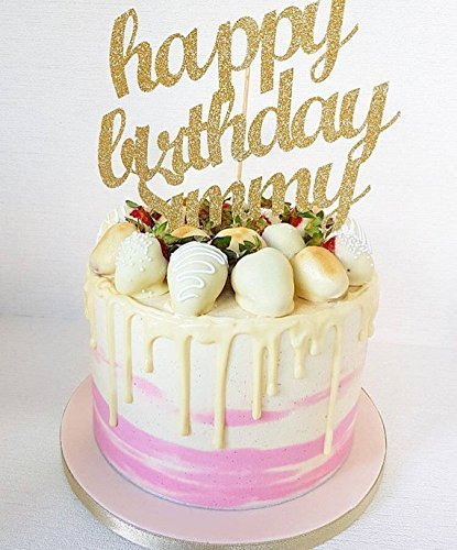 happy birthday cake decorations ; 51cDydepqtL