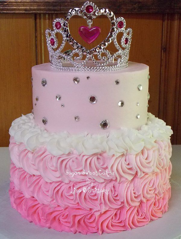 happy birthday cake for girl ; 0fd3011fbc2999bf1017ea76a110bc07--happy-birthday-princess-princess-birthday-party-cake