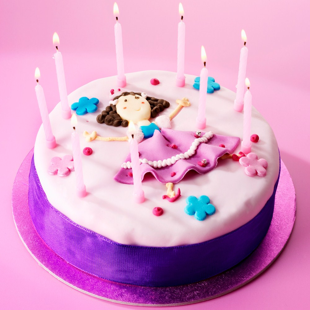happy birthday cake for girl ; birthday-cake-for-girls-girls-birthday-cake-recipe-bakingmad-soft-pink-and-purple-color-combination-cake-ideas-for-birthday