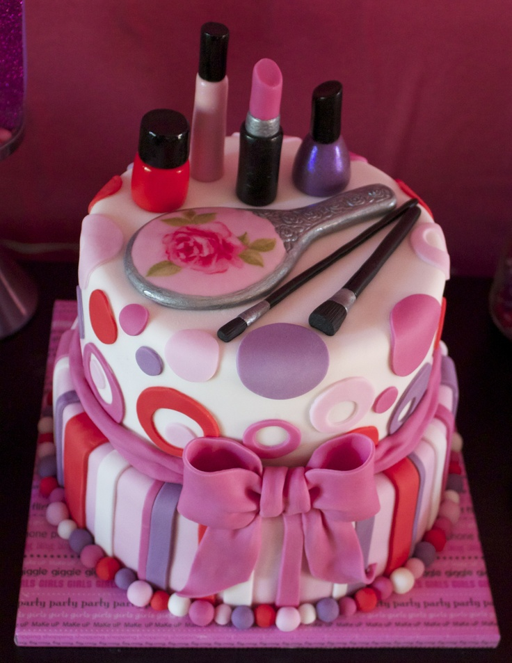 happy birthday cake for girl ; ideas-for-cakes-for-birthdays-birthday-cakes-images-excellent-birthday-party-cakes-40th
