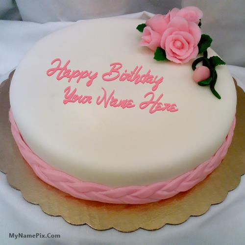 happy birthday cake pictures with name ; pink-rose-happy-birthday-cake_name_pix_e702