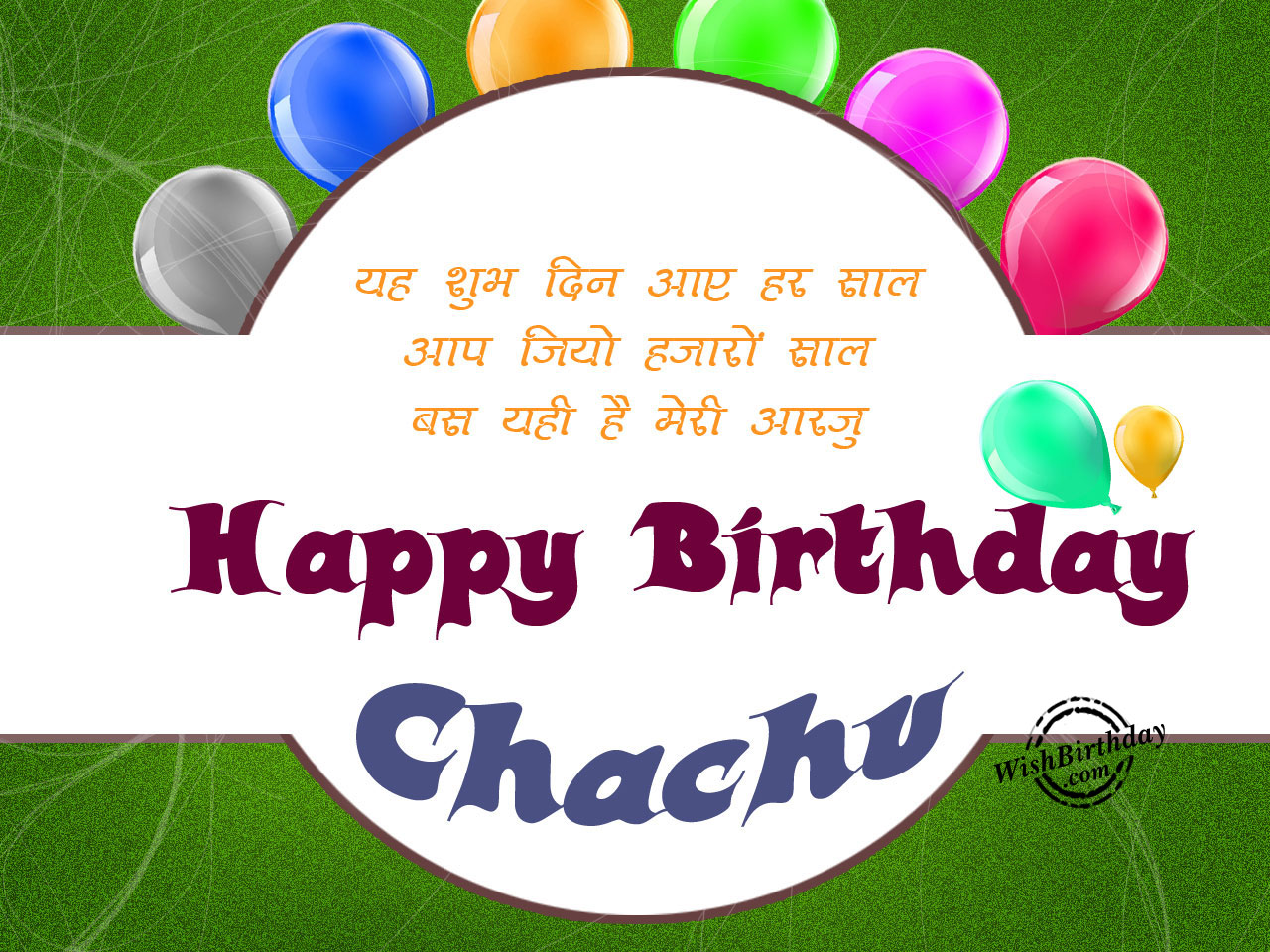 happy birthday chachu wallpaper ; Ye-shubh-din-aaye-har-saal