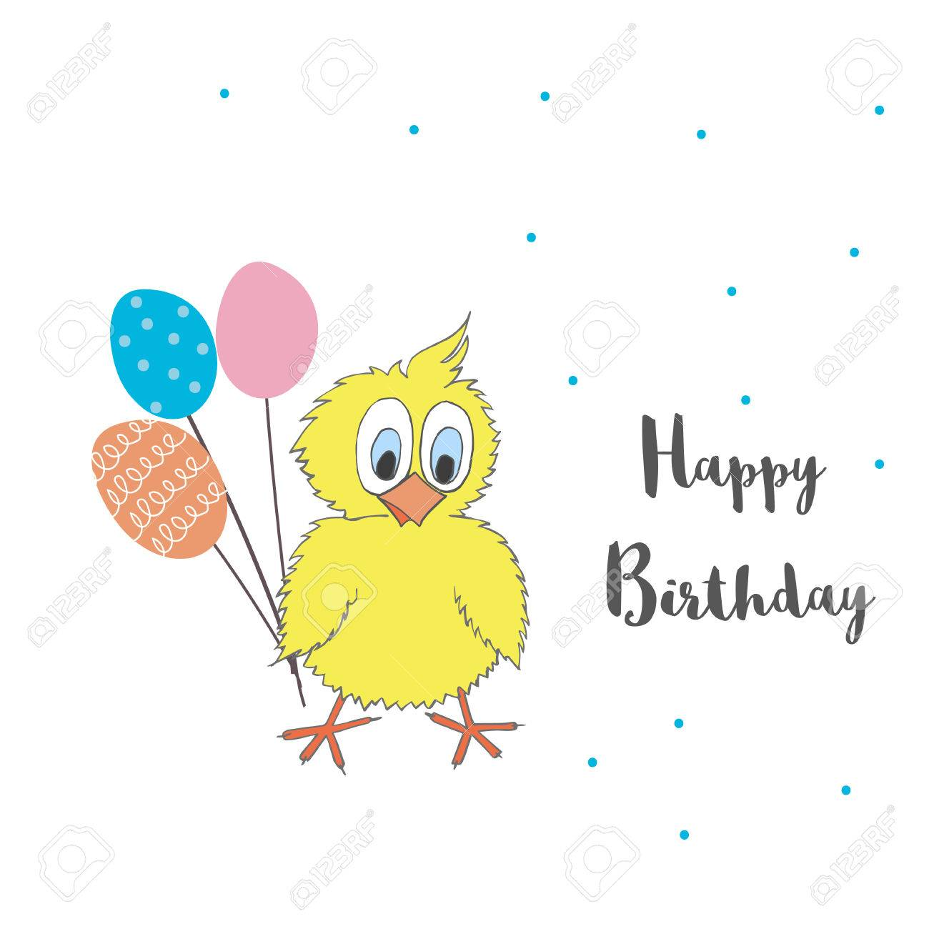 happy birthday chicken images ; 85714532-cute-little-chicken-with-balloons-and-words-happy-birthday-vector-cartoon-illustration-can-be-used-f
