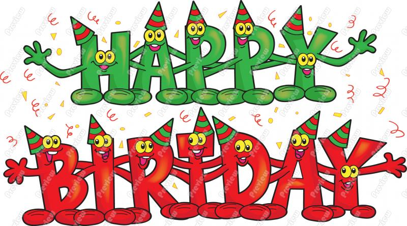 happy birthday clipart for email ; 1984488