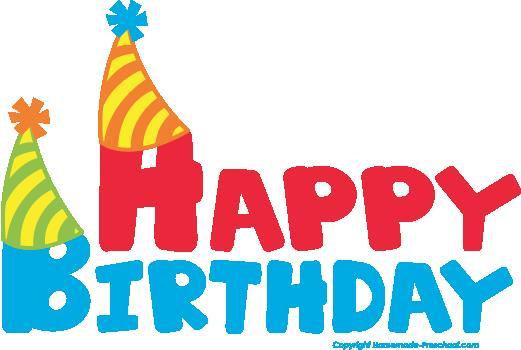 happy birthday clipart for email ; Free-happy-birthday-clipart-2