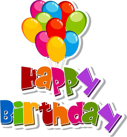 happy birthday clipart for email ; Happy-birthday-free-birthday-clipart-animations
