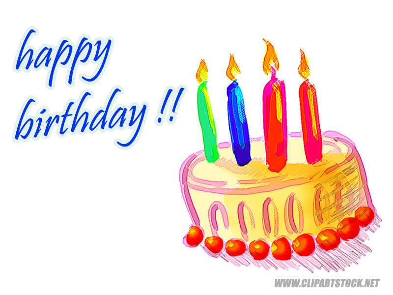 happy birthday clipart for email ; kids-birthday