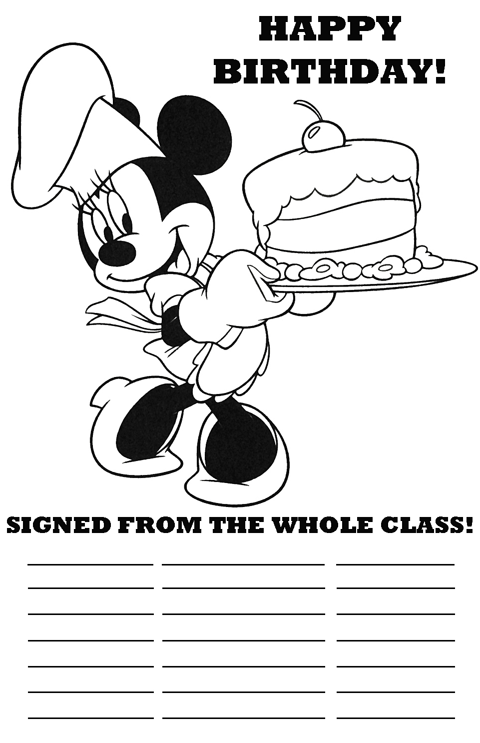 happy birthday coloring pages disney ; DISNEY+HAPPY+BIRTHDAY+TEACHER+CLASS