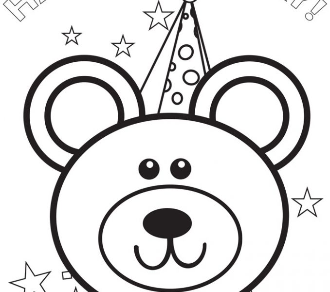 happy birthday coloring pages disney ; birthday-pictures-to-colour-free-printable-happy-birthday-coloring-pages-for-kids-disney-pictures-to-colour-in-678x600