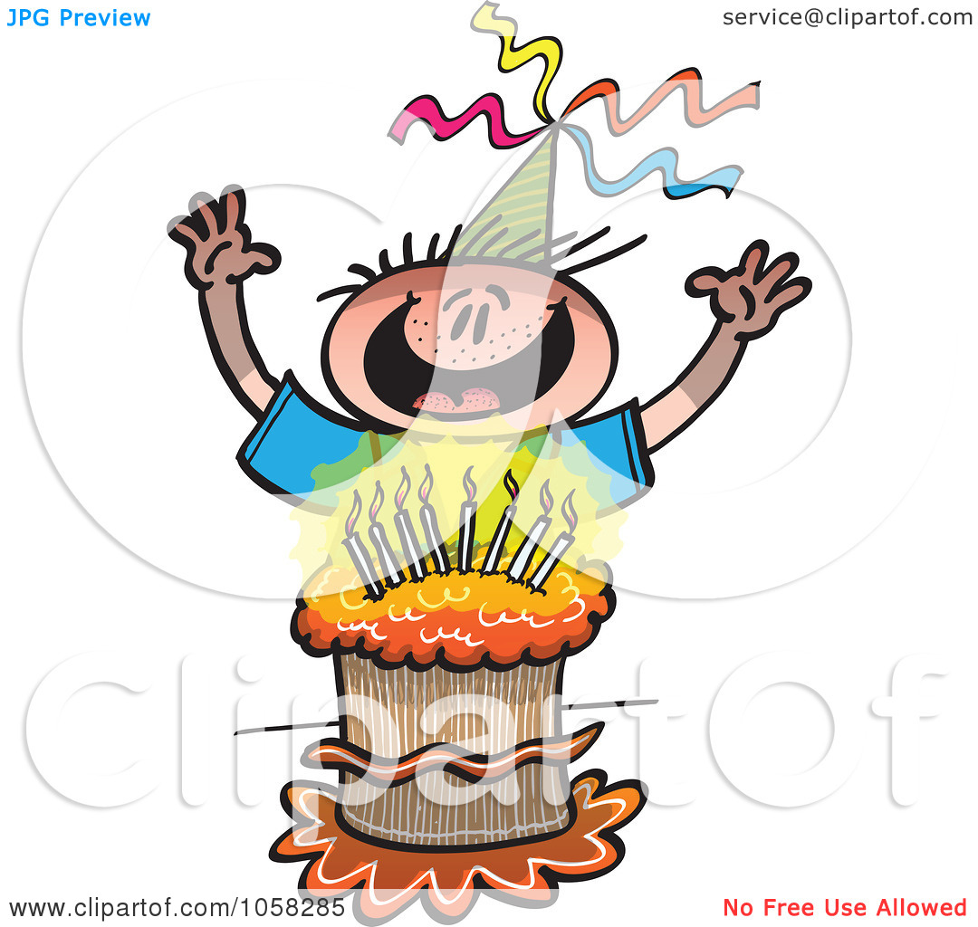 happy birthday cousin clipart ; happy-birthday-boy-clipart-Royalty-Free-Vector-Clip-Art-Illustration-Of-A-Happy-Birthday-Boy-Behind-His-Cake-10241058285