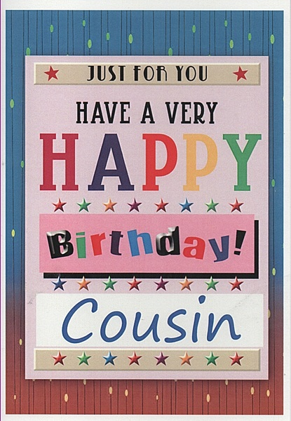 happy birthday cousin male ; a502(1)