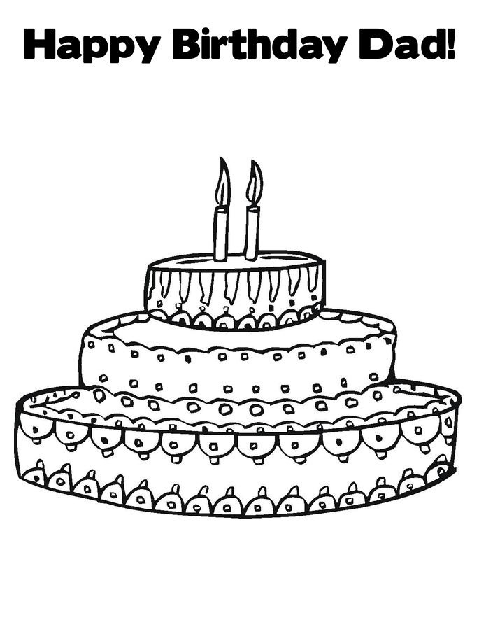 happy birthday dad coloring pictures ; Happy-Birthday-Coloring-Pages-For-Dad