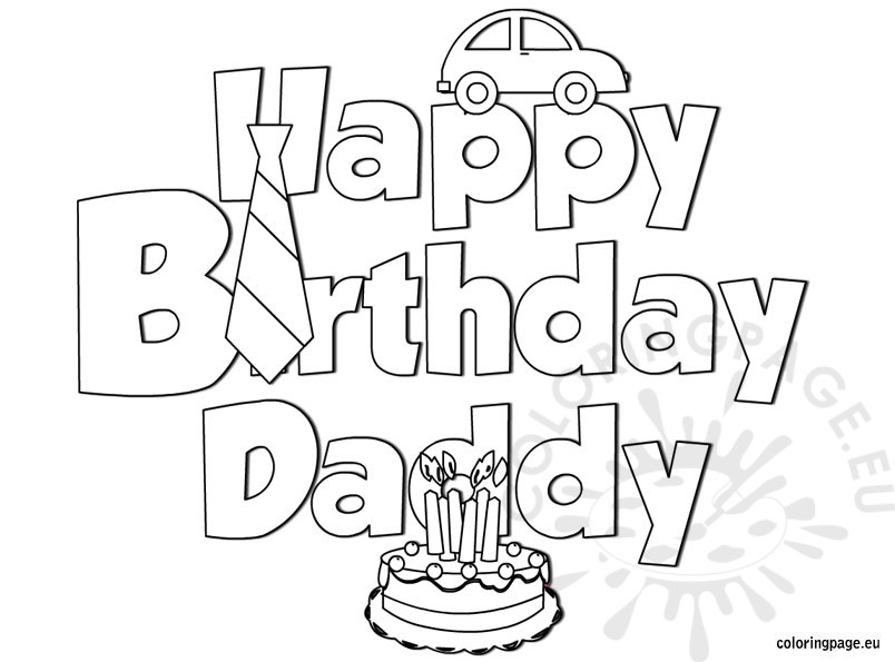 happy birthday dad coloring pictures ; happy-birthday-daddy-coloring